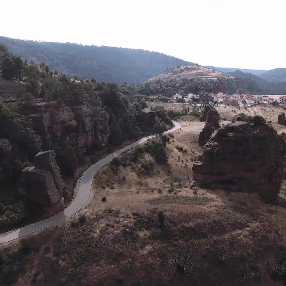 fotografía aérea chequilla