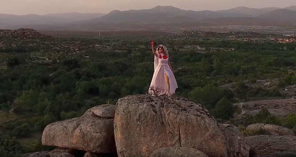 Videoclip realizadon con dron