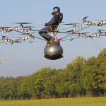 Volando hacia el futuro en un dron