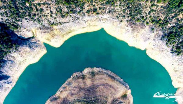 Sequía en el embalse de Entrepeñas
