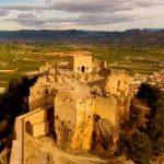 Castillo de Montesa a vista de dron
