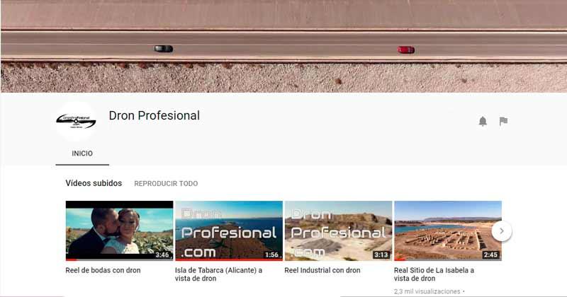 Youtube DronProfesional.com