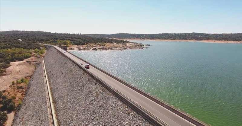 Embalse Valmayor con Dron