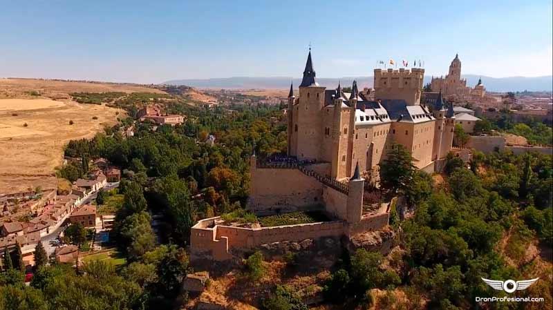Segovia a vista de Dron