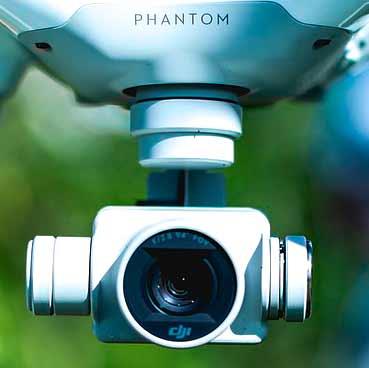 Cámara de dron