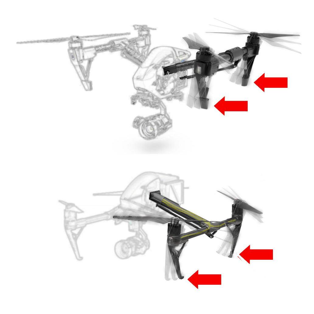 Explicación del funcionamiento de los brazos del Inspire