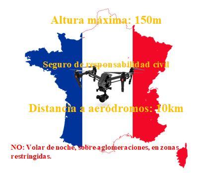 Drones en francia