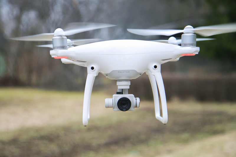 Phantom 4 Pro cámara