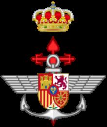 Emblema de la Dirección General de Armamento y Material, DGAM (Fuerzas Armadas Españolas)