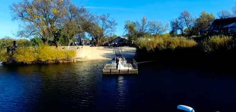 vídeo de boda con dron
