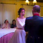 Baile de boda, novios